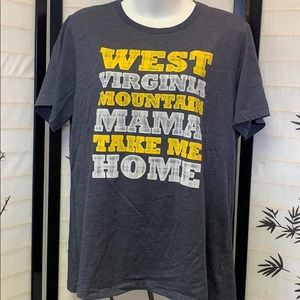 West Virginia Mountain Mama T-shirt